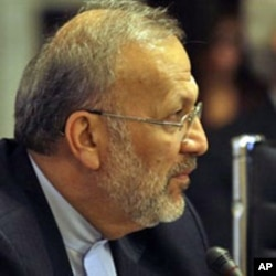 Dismissed Iranian Foreign Minister Manouchehr Mottaki (file photo)