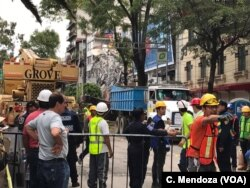 Mexican officials are promising to keep up the search for survivors as rescue operations stretch into a fourth day after Tuesday's major earthquake that devastated Mexico City and nearby states.