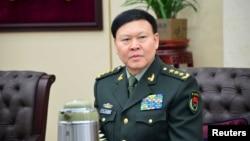中国军队原总政治部主任张阳 (资料照片)