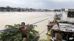 菲律賓水災馬尼拉八成地方被水覆蓋