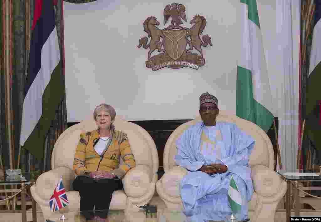 Ziyarar Firai Ministar Burtaniya Theresa May a Najeriya