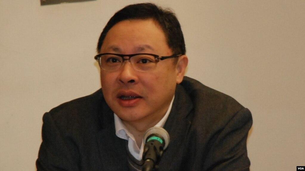 香港大学法学副教授戴耀廷 (美国之音)