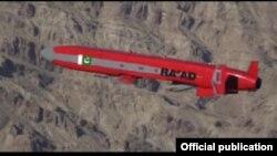 巴基斯坦2月時試射了一種導彈。(資料照)
