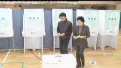 2012-04-11 美國之音視頻新聞: 南韓開始關鍵性國會選舉