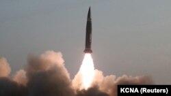 Triều Tiên phóng phi đạn hành trình chiến thuật loại mới ngày 25/3/2021.