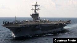 Hàng không mẫu hạm USS Carl Vinson. (Hình: Hải quân Hoa Kỳ).