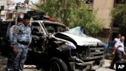 2013年5月30日發生自殺爆炸手事件致多人死亡。(資料照片)