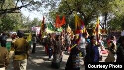 Delhi Tibetans Observe Tibetan Women's Uprising Day