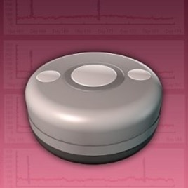 This 3- to 4- cm sealed titanium button contains everything you need to monitor glucose concentrations inside the body and send the signal by wireless telemetry to a receiver