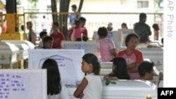 تلفات سيل ناشی از توفان کتسانا در فيليپين به ٢٤٠ نفر رسيد