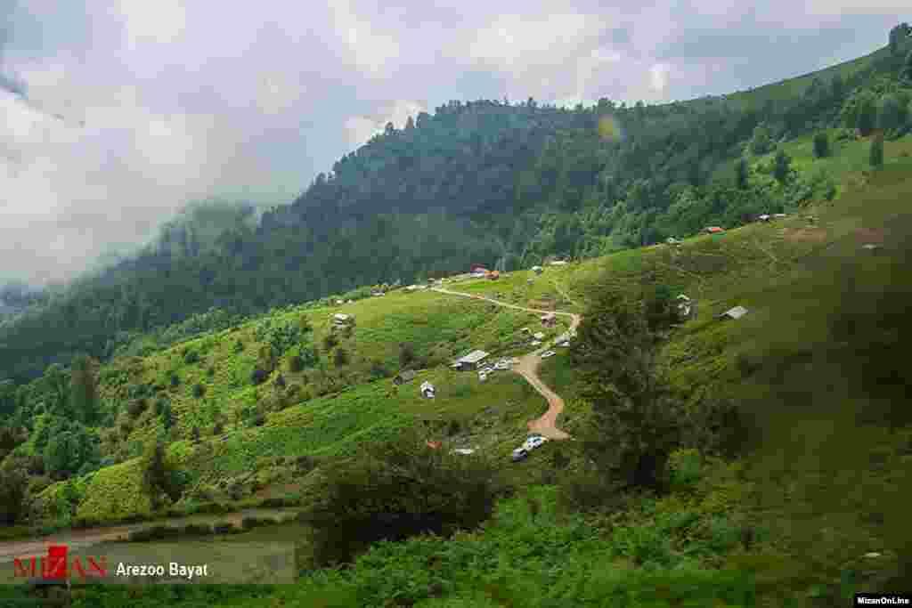 ماسال شهری در استان گیلان که در کنار کوههای تالش واقع شدهاست. عکس: آرزو بیات