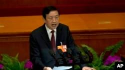 2013年3月10日中国国务院秘书长马凯在人大会议上讲话