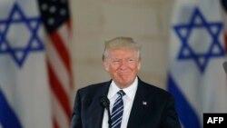 Le président Donald Trump lors de sa visite à Jerusalem, le 23 mai 2017.