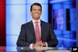Donald Trump Jr., hijo mayor del presidente Donald Trump.