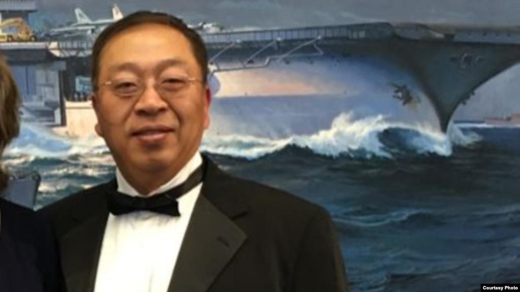 美国前国务卿蓬佩奥的首席中国政策和规划顾问余茂春 (照片来源:余茂春)(photo:VOA)