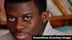 William Elong, fondateur de DroneAfrica, au Cameroun