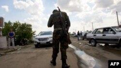 Проросійський бойовик на офіційно закритому пункті пропуску «Ізварине»