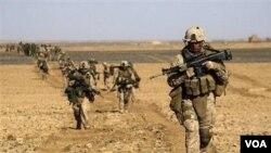 Pasukan NATO dalam operasi militer di Afghanistan
