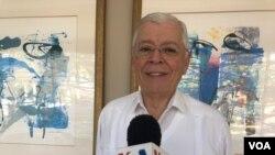 """El excanciller de Nicaragua Francisco Aguirre Sacasa dijo a la VOA que el """"país está en declive desde 2010""""."""