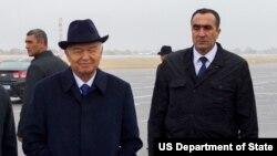 Prezident Islom Karimov, Samarqand, 1-noyabr, 2015