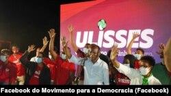 Ulisses Correia e Silva encerra campanha eleitoral do MpD, Praia, Cabo Verde