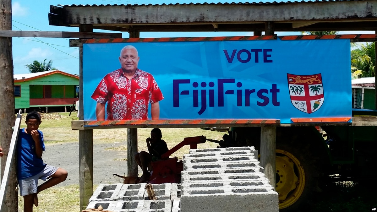 Two Former Coup Leaders Vie for Democratic Power in Fiji
