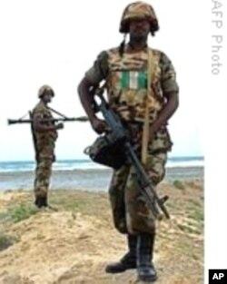 African Union peacekeeper in Somalia