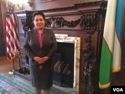 Uzbek Embassy in Washington, March 16, 2018