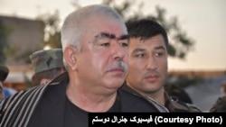 دوستم گفته است برای مبارزه بر ضد مخالفین مسلح در تمام نقاط کشور آماده است