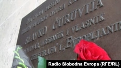 Mesto ubistva novinara Slavka Ćuruvije (Foto: RFE/RL)