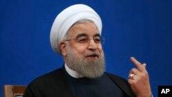 Prezida Hassan Rouhani wa Irani