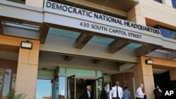 Tư liệu - Trụ sở Ủy ban Đảng Dân chủ Toàn quốc ở Washington