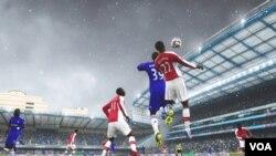Los movimientos de los jugadores y los escenarios son tan reales como si de un juego real se tratara.