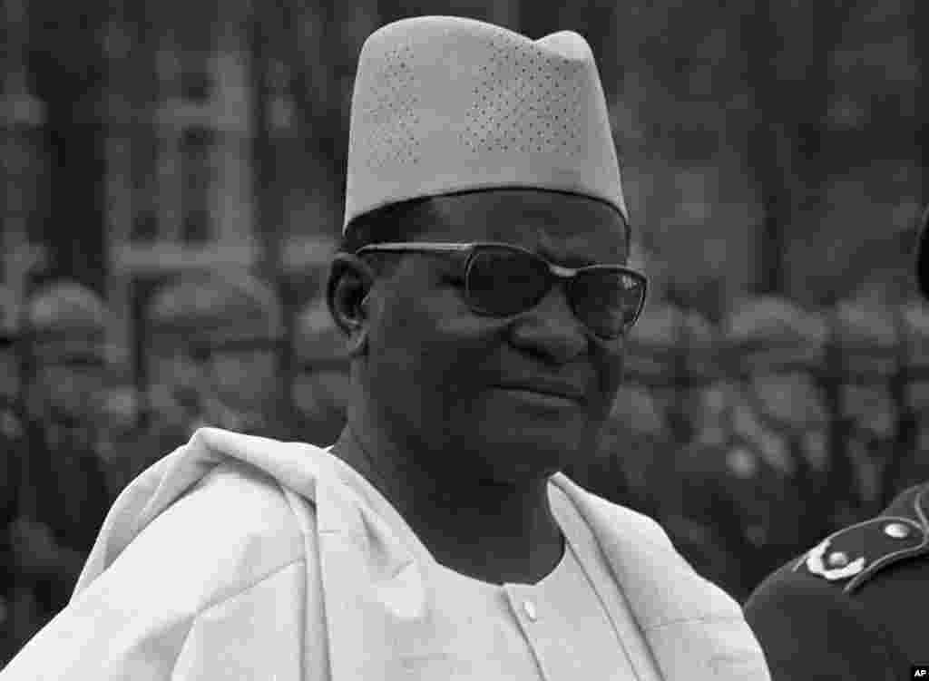 Hammani Diori a kasar Jamus ta Yamma, 5 Afrilu 1968.