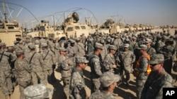 عراق سے امریکی افواج کا انخلاء مکمل