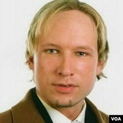 Tersangka Anders Behring Breivik yang berusia 32 tahun.