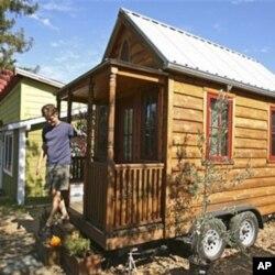 Majušna kućica Jaya Shafera, u kojoj je živio deset godina