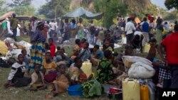 剛果難民逃到烏干達
