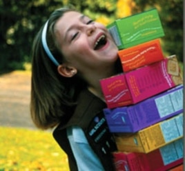 This year, the Girl Scouts are taking their $700-million a year cookie business online.