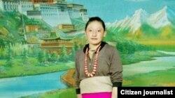 Bà mẹ 23 tuổi tên Tamding Tso đã tự thiêu tại thành phố Rebkong miền đông Tây Tạng.