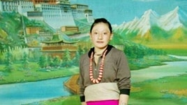 Tamding Tso, a Tibetan mother activists say self-immolated in Rebkong, China, Nov. 7, 2012.