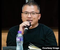 香港記者協會主席陳朗昇。 (陳朗昇臉書圖片)