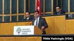 Selahattin Demirtaş, HDP'nin Meclis Grubu'ndaki konuşmasında