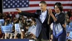 پرزيدنت اوباما در آستانه انتخابات ميان دوره ای کنگره در اوهايو سخنرانی کرد