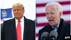 Trump in Michigan, Biden in Iowa October 30 2020