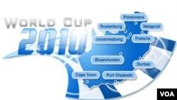 Ya están definidas las nueves ciudades que serán anfitrionas de la Copa del Mundo de 2010 en Sudáfrica.