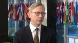 نماینده ویژه آمریکا در امور ایران سهشنبه شب در یک پیام ویدئویی درباره اعتراضات مردم در ایران واکنش نشان داد.