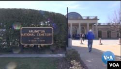 Arlington National Cemetery (Photo: VOA/videograb)