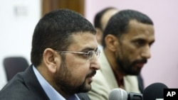 Hamas spokesman Sami Abu Zuhri (file photo)