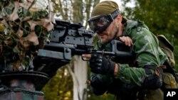 Proruski pobunjenik u regionu Donjecka, u istočnoj Ukrajini